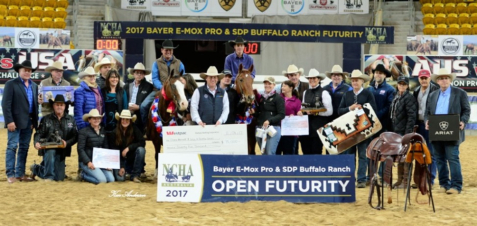 Turpentine Park produces 2nd NCHA Open Futurity Champion!!